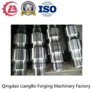 Custom Manufacture Carbon Manganese Alloy Forged Steel Shaft