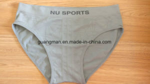 90%Polyamide 10%Elastane Men Basic Seamless Underwear for Good Quality pictures & photos