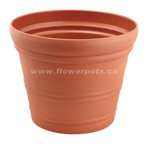 Beige Plastic Garden Pot (KD9101-KD9108) pictures & photos