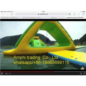 Outdoor Giant Inflatable Water Slide for Adult, Water PVC Slide