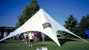 Factory Price Spider Advertising Cheap Star Shade Star Tent with Customized Size pictures & photos
