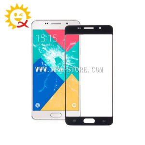 A710 Outer Front Glass Lens for Samsung A7 2016 Black