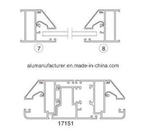 171-50 Series Casement Aluminium Alloy Extrusion Profile for Door and Window pictures & photos