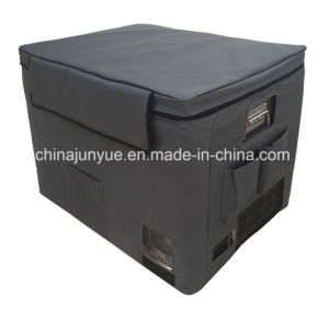 Scd-70L 12/24V DC Stainless Steel Doubletemperature Chest Freezer Curved Bottom pictures & photos