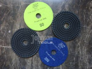 75-180mm Diamond Wet Polishing Pad for Granite pictures & photos