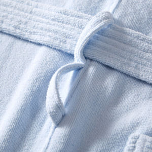 100% Cotton Hotel SPA Plain Solid Women Bathrobe pictures & photos