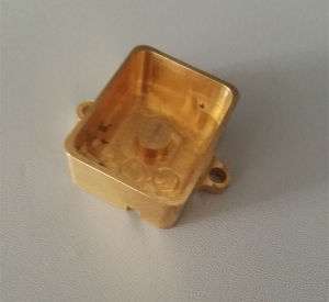 CNC Machining Brass Outdoor Light Fixtures pictures & photos
