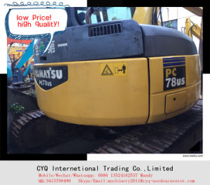 Used Komatsu Excavator PC78us-6 for Sale Small Excavator pictures & photos