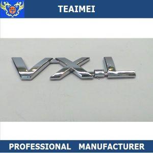 3D ABS Chrome Plated Car Logo Letter Emblem Sticker pictures & photos