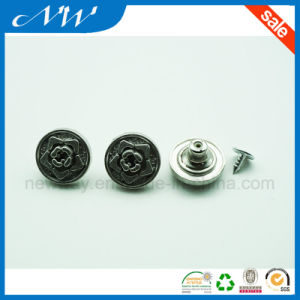 Wholesales Fashion Zinc Alloy Shank Button for Jeans pictures & photos
