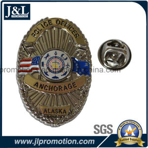 High Quality Customer Design Police Badge with Printing Insert pictures & photos
