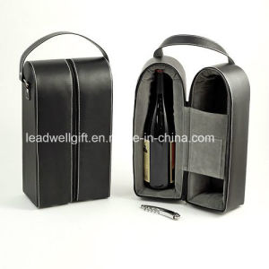 2017 Hot Sell Wine Bottle Holder with High Level Leather (LW-JB0327) pictures & photos