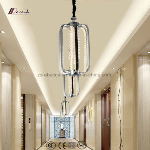 Crystal Pendant Lamp with Aluminum for Decoration pictures & photos