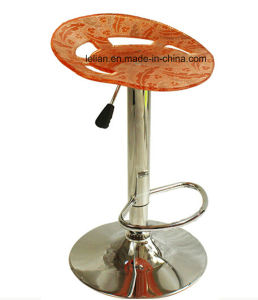 Acrylic Bar Stool, Ajusable Bar Chair for Night Club (LL-BC003) pictures & photos