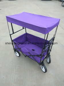 Outdoor Multipurpose Folding Tool L Wagon for Kids