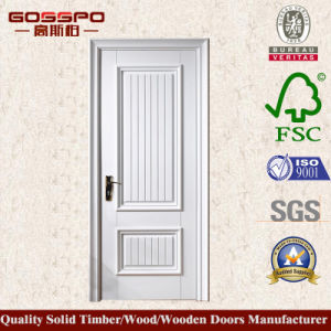 White Painting MDF Wooden Door for Interior Room (GSP8-036) pictures & photos