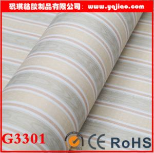 Fashion Simple Stripe Self-Adhesive PVC Waterproof Wallpaper pictures & photos