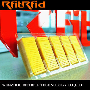UHF Aluminum Etching Prevent Tamper RFID Tag/Smart Label/Sticker pictures & photos