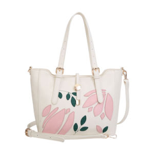 Floral Print Large Casual Women Shoulder Bags (MBNO042116) pictures & photos
