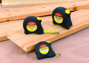 High Quality 8m Auto Lock Steel Tape Measure with Double Marked Blade pictures & photos