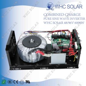 off Grid Solar Cell Inverter with Charger 48V/96V 6000W pictures & photos