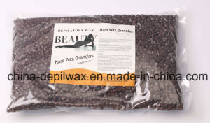 Natural Honey Hard Wax Pellets Depilatory Wax for Brazilian Waxing pictures & photos