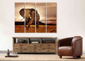Customized Wood Framed Cotton/Polyester /Linen/Canvas Printing, Follow Canvas Prints pictures & photos
