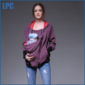 Kangaroo Women Maternity Hoody for Baby Carrier pictures & photos