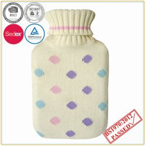 DOT Design Knitted Hot Water Bottle Cover pictures & photos