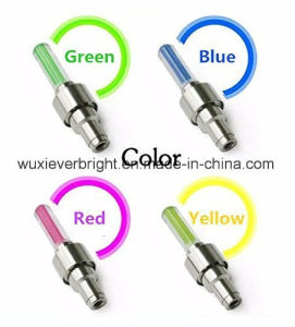 LED Bike Car Flash Valve Cap Tyre Tire Wheel Light/Lamp pictures & photos