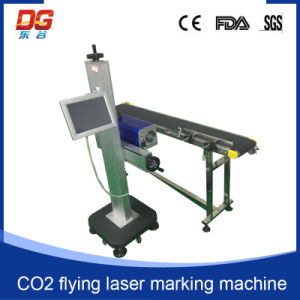CO2 Flying Laser Marking Machine for Engraving pictures & photos