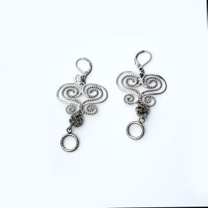 Hot Fashion Stainless Steel Turquoise Earrings pictures & photos