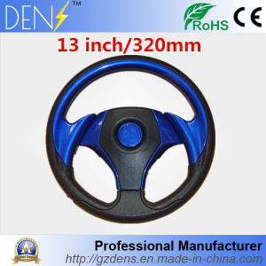 Universal 320mm 13inch Blue Classic Rubber Steering Wheel pictures & photos
