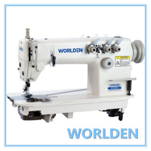 Wd-3800-1/2/3 Three Needle Chainstitch Sewing Machine pictures & photos