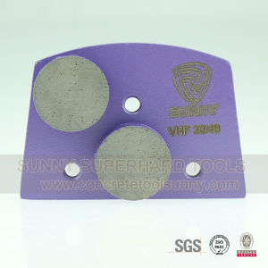 New Arrival Diamond Trapezoid Terrazzo Floor Grinding Pads pictures & photos