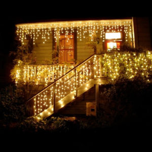 Customized Warm Light Holiday Lighting Decoration Icicle Lights pictures & photos