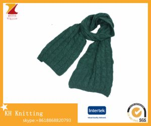 Wholesale Custom Knitted Scarf Factory China pictures & photos