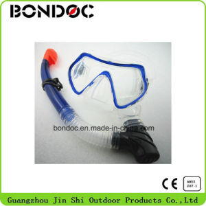 High Quality Diving Mask and Snorkel Diving Set for Adult (JS-7044+JS-7034) pictures & photos