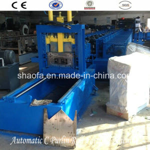 Fulll Auto C Z Purlin Cold Roll Forming Machine pictures & photos