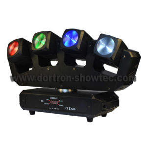 LED Moving Head Beam Light Effect 4X15W RGBW 4in1 Pixel