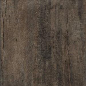 100% Virgin Self-Adhesive Brown Wood Look PVC Floor pictures & photos