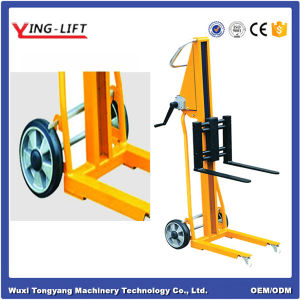 Mini Winch Type Fork Lift Stacker pictures & photos