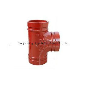 Cast Iron Pipes Fittings All Flange Tee pictures & photos