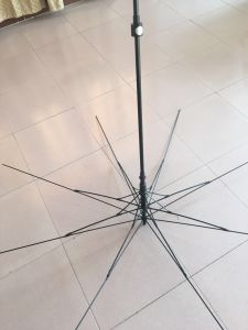 The Middle Type Fiber Frame Umbrella pictures & photos