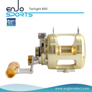 Aluminium 8+1 Bearing Sound Alarm Trolling Fishing Reel for Marine and Boat pictures & photos