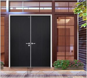 White Laminated Interior Flush Doors pictures & photos