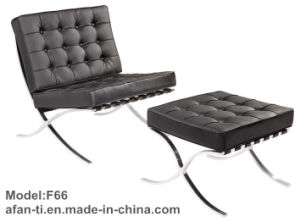 Office Leisure Barcelona Leather Chaise Chair (F66-1) pictures & photos
