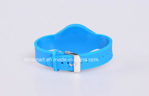 Hf 13.56MHz Passive Silicone Bracelets Wristband RFID Chip Tag for Promotion pictures & photos