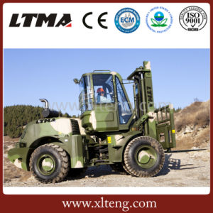 off Road Forklift 5t Rough Terrain Forklift with Best Price pictures & photos