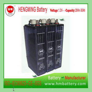 Nickel Cadmium Alkaline Battery/Industrial Battery/UPS Battery Gnz20 (1.2V20Ah) pictures & photos